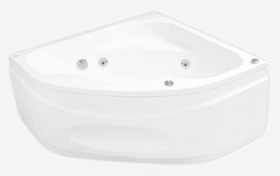 Klio Sym 133 х 133 System SX2Ванны<br>Ванна Pool Spa серия Klio, в комплект входит: ванна и ножки.<br>Электронное управление. Водный массаж:<br>&amp;#8722; 4 нерегулируемые форсунки на спину c возможностью установки интенсивности струи воды.<br>&amp;#8722; 2 нерегулируемые форсунки на ступни c возможностью установки интенсивности струи воды.<br>&amp;#8722; 4 боковые форсунки с возможностью установки направления и интенсивности струи воды.<br>&amp;#8722; установка интенсивности массажа аэрацией.<br>&amp;#8722; датчик уровня воды, защищающий от сухого запуска насоса.<br>Воздушный массаж:<br>&amp;#8722; автоматическое осушение воздухом воздушной системы после купания (после слива воды включается на 2-3 мин. осушение воздушных каналов для удаления остатков воды)<br>Компрессор с подогревом воздуха и озонатором (опция). Регулятор интенсивности водного массажа. На борту ванны находится регулятор подачи воздуха, обогащающий водный массаж воздухом. Регулятор дозирует воздух в систему боковых, спинных и ножных форсунок. Подсветка.<br>