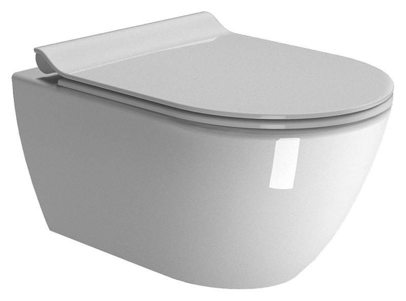Pura 55/F 881511 белыйУнитазы<br>Унитаз подвесной GSI Pura 55/F 881511, оснащён инновационной системой смыва Swirlflush. Установка снизу.<br>