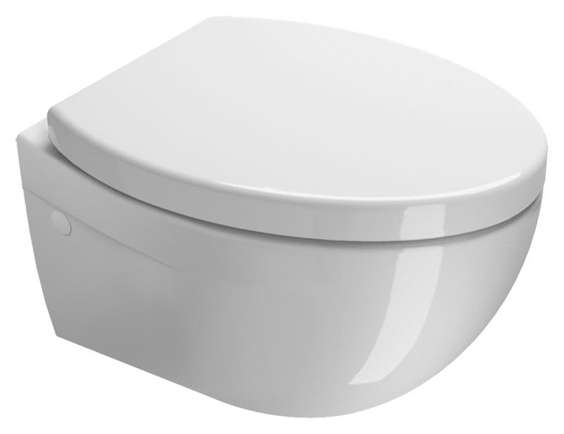 Унитаз GSI Modo 51 771011 белый глянцевый
