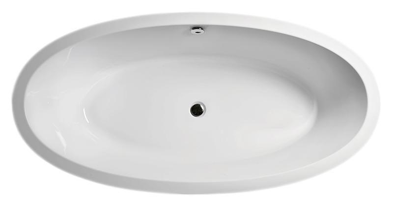 """Modo 190 белая глянцеваяВанны<br>Ванна акриловая GSI Modo 190 с донным клапаном управляемым нажатием """"push-pull"""". В комплект поставки входят: чаша ванны, сифон и донный клапан.<br>"""
