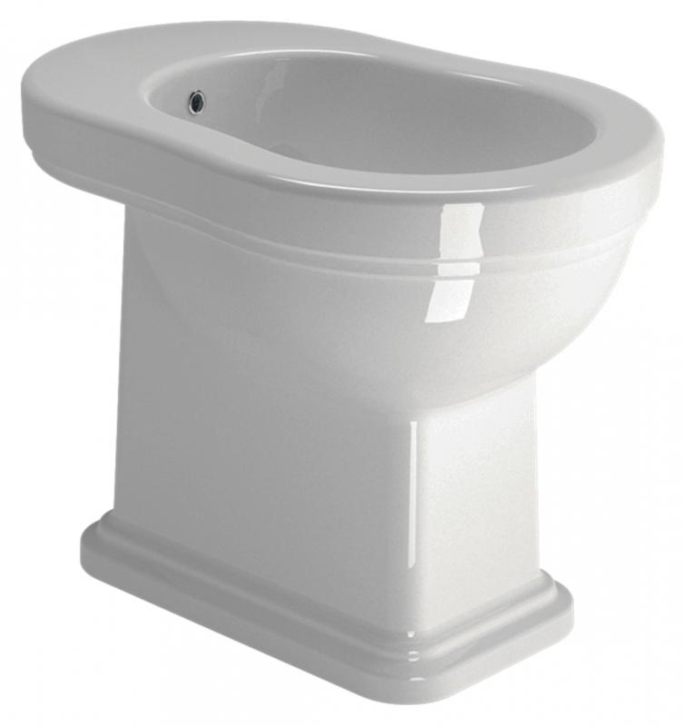 Купить Биде, Classic 54 8762111 белое глянцевое, GSI, Италия