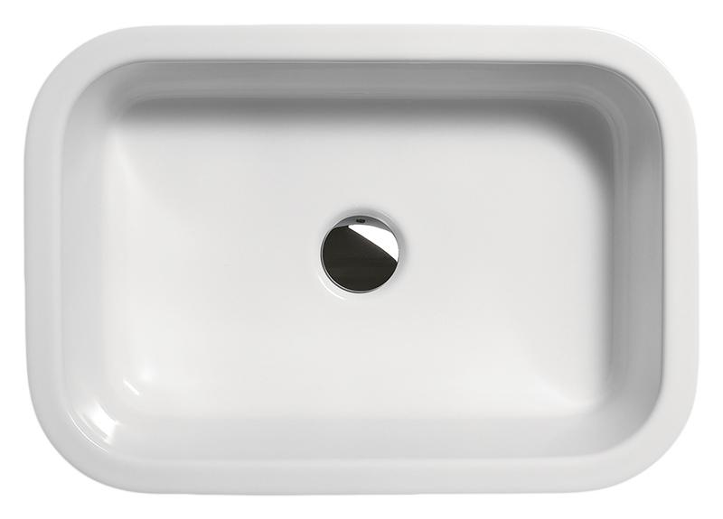 Traccia 52/T 6982011 белая глянцеваяРаковины<br>Раковина накладная GSI Traccia 52/T 6982011 без отверстия для слива-перелива для настенной или настольной сантехнической арматуры. Устанавливается на опорный кронштейн. Цена указана за раковину. Все остальное приобретается отдельно.<br>