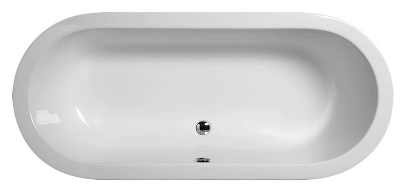"""Traccia 179 белая глянцеваяВанны<br>Ванна акриловая GSI Traccia 179 с донным клапаном управляемым нажатием """"push-pull"""". Цена указана за ванну, сифон и донный клапан. Все остальное приобретается отдельно.<br>"""