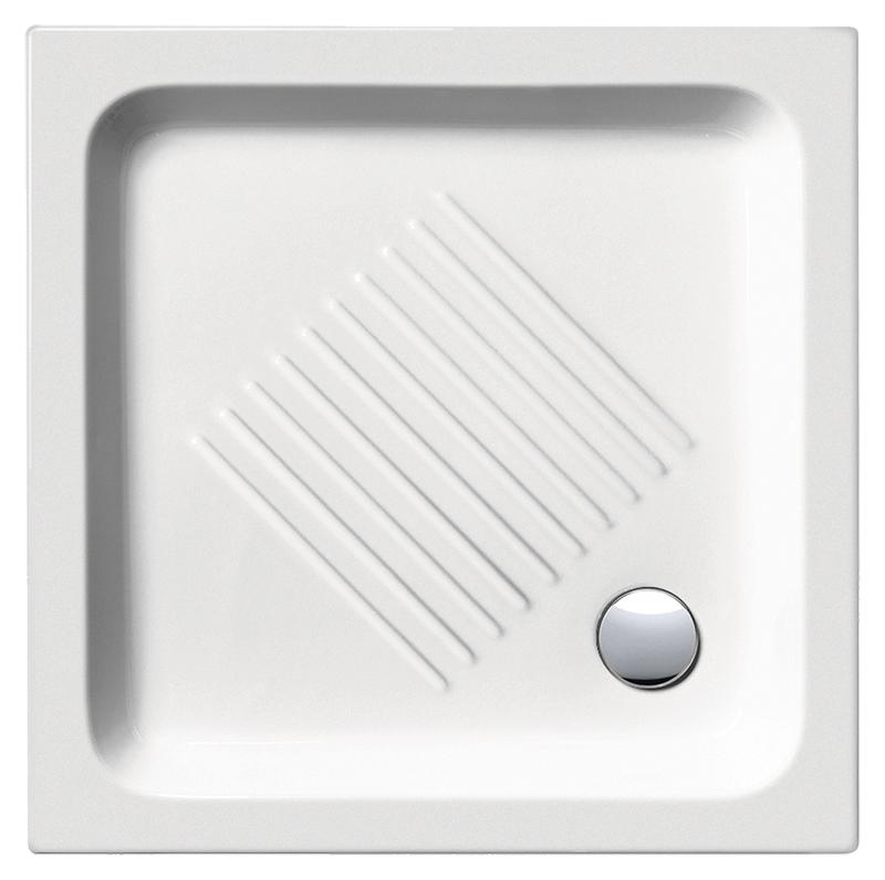 H11 75/Q 437511 белый глянцевыйДушевые поддоны<br>Душевой поддон GSI H11 75/Q 437511 с антискользящим рельефом в керамике.<br>