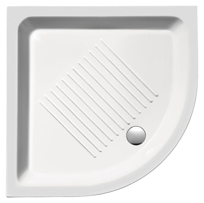 H11 90/A 449011 белый глянцевыйДушевые поддоны<br>Душевой поддон GSI H11 90/A 449011 с антискользящим рельефом в керамике.<br>