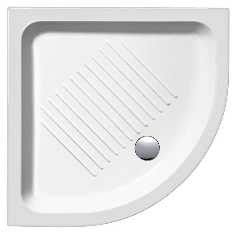 H11 80/A 448011 белый глянцевыйДушевые поддоны<br>Душевой поддон GSI H11 80/A 448011 с антискользящим рельефом в керамике.<br>