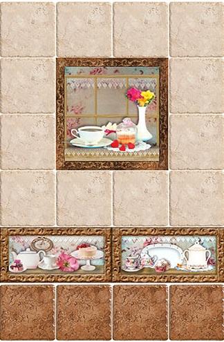 Керамическая плитка Style Tiles Marco Cocinas C (Plato) 10х20 декор стоимость