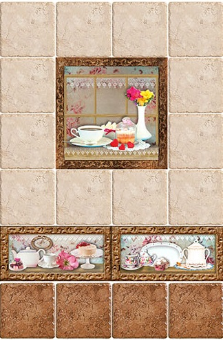 Керамическая плитка Style Tiles Marco Cocinas A (Plato) 20х20 декор