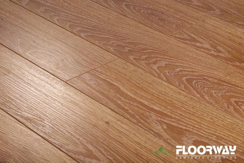 Ламинат Floorway Standart Дуб брашированный 5200 - фото