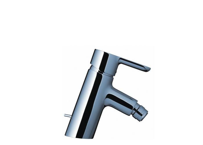 Status 32250000 ХромСмесители<br>Смеситель для биде Hansgrohe Status имеет аэратор с шарнирным соединением. Модель с неподвижным изливом, обычная струя. Расход воды: 7,2 л/мин, керамический узел смешивания  и регулируемое ограничение температуры. Донный клапан, 1&amp;#188;' , подходит для проточных водонагревателей.<br>