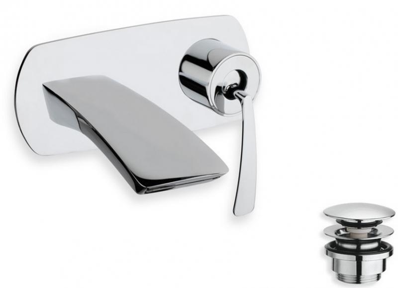 Смеситель для раковины Cristina Bollicine BO 266 Хром смеситель для ванны cristina bollicine bo 190 хром