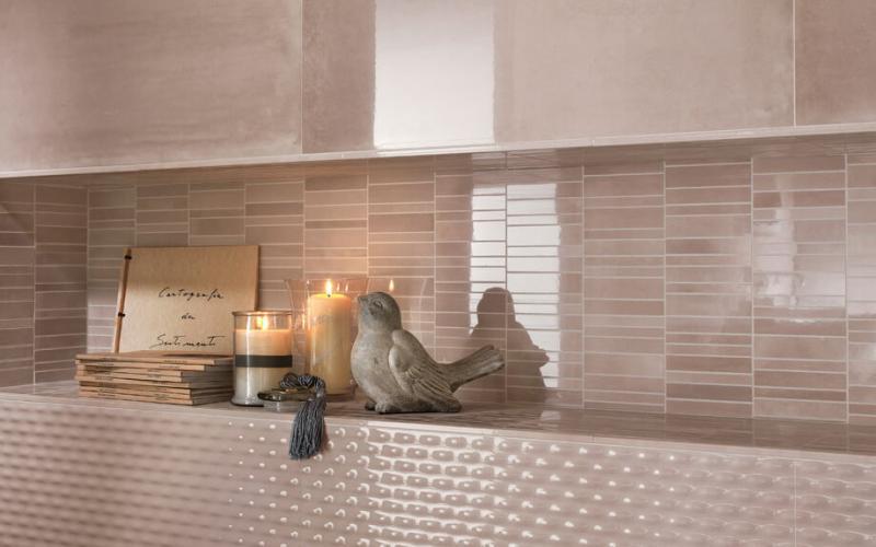 Керамическая плитка Fap Ceramiche Frame Knot Sky 30,5x56 настенная