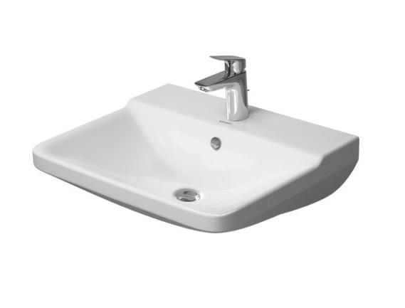Раковина Duravit P3 Comforts 2331600000 Белый