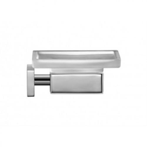 Karree 0099521000 ХромАксессуары для ванной<br>Мыльница для ванной Duravit Karree 0099521000 предназначена для настенного монтажа, выполнена в квадратной форме и современном дизайне. Чаша изготовлена из матового стекла, имеет размеры 11,5х11,5 см. Она хорошо моется, имеет прочную поверхность. Держатель производится из хромированного металла.<br>