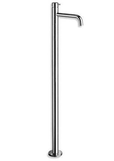 """Tricolore Verde TV 290 ХромСмесители<br>Однорычажный смеситель для раковины Cristina Tricolore Verde TV290 напольного монтажа. В комплекте с донным клапаном Up&amp;Down 1""""1/4 дюйма. Только наружная часть смесителя, встраиваемый механизм в комплект поставки не входит, заказывать дополнительно.<br>"""