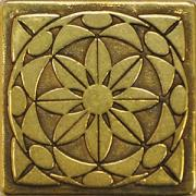 Diaman Shined Brass 5x5 вставка