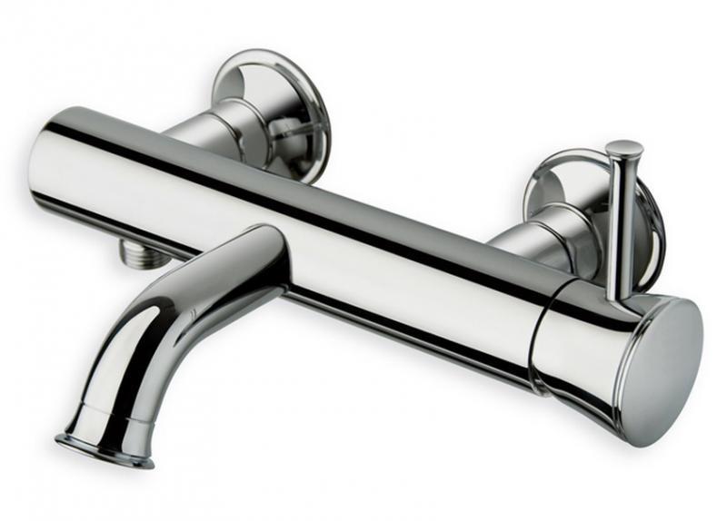 Смеситель для ванны Cristina Tricolore Retro TO 107 Хром смеситель cristina art ar 107 хром
