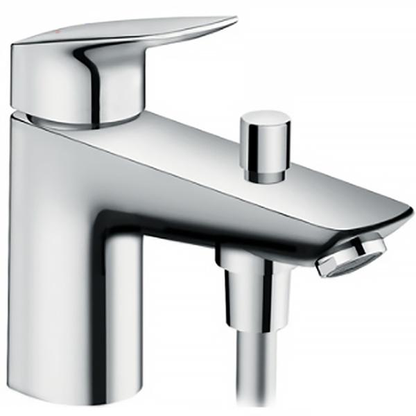 Logis 71312000 ХромСмесители<br>Смеситель для ванны Hansgrohe Logis 71312000.<br>Особенности:<br>Экономия воды благодаря технологии Air Power, позволяющей смешивать воду с воздухом.<br>Совместим с проточными водонагревателями.<br>