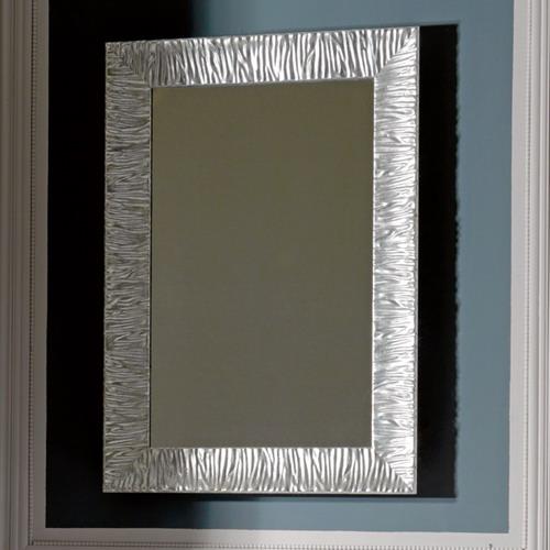 Retro 7365 серебро 02Мебель для ванной<br>Зеркало Kerasan Retro 7365 Argento. Цвет серебро.<br>