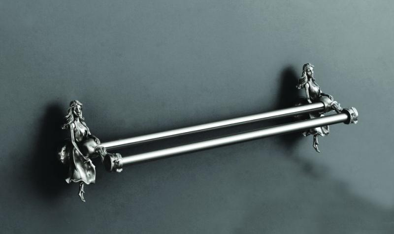 Держатель для полотенец Art&Max Athena AM-B-0618-T Серебро bello 7460 b