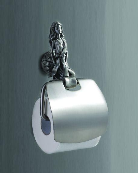 Athena AM-0619-T СереброАксессуары для ванной<br>Держатель для туалетной бумаги Art &amp; Max Athena AM-0619-T.<br>