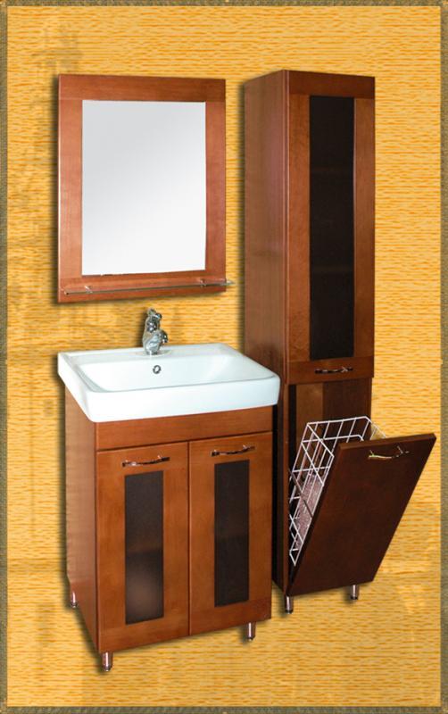 Sofia 60 НагалМебель для ванной<br>Мебель для ванной Два Водолея Sofia 60. Цвет нагал. В стоимость входит тумба. Все остальное приобретается отдельно.<br>