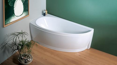 Avocado 150 белая 150 LВанны<br>Акриловая асимметричная ванна Ravak Avocado 150 L. Для маленьких ванных комнат.<br>