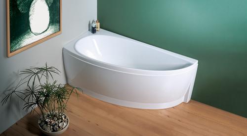 Avocado 160 белая 160 LВанны<br>Акриловая асимметричная ванна Ravak Avocado 160 L. Для маленьких ванных комнат.<br>