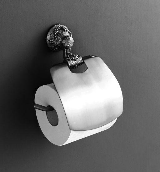 Sculpture AM-0689-T СереброАксессуары для ванной<br>Держатель для туалетной бумаги Art &amp; Max Sculpture AM-0689-T.<br>