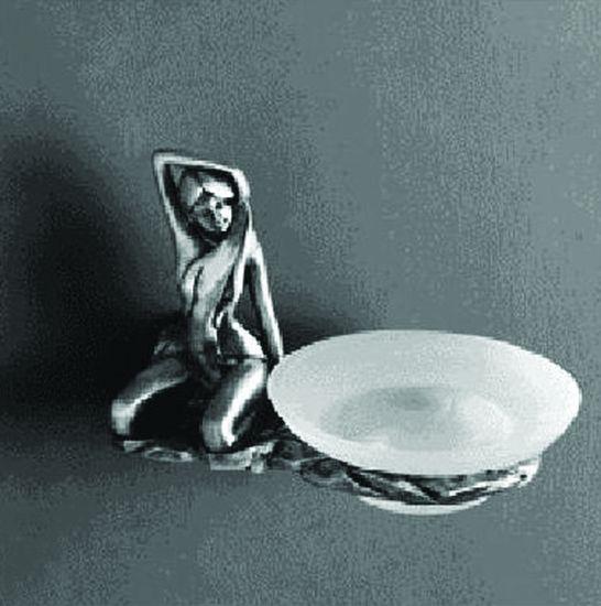 Мыльница Art&Max Juno AM-B-0715 Серебро