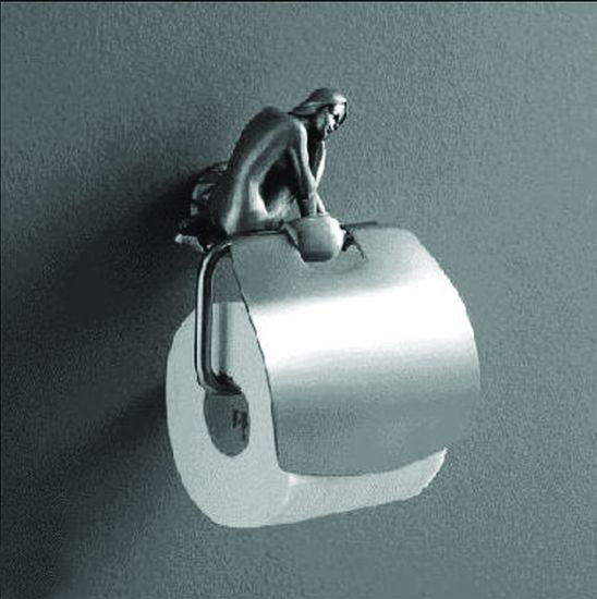 Juno AM-0719-T СереброАксессуары для ванной<br>Держатель для туалетной бумаги Art &amp; Max Juno AM-0719-T.<br>