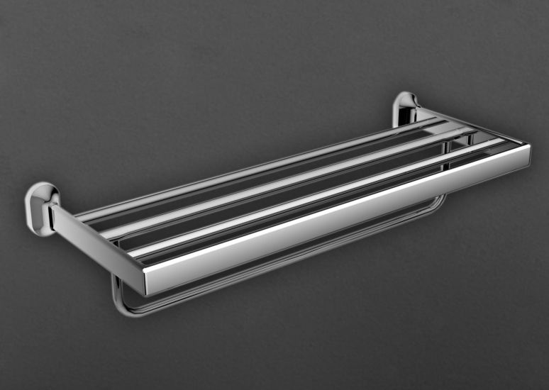 Ovale AM-4022B ХромАксессуары для ванной<br>Полка для полотенец Art &amp; Max Ovale AM-4022B.<br>