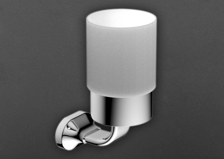 Стакан Art&Max Ovale AM-E-4068 Хром