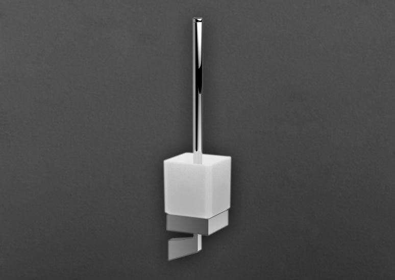 Techno AM-4181 ХромАксессуары для ванной<br>Держатель для щетки Art &amp; Max Techno AM-4181, стакан выполнен из стекла.<br>
