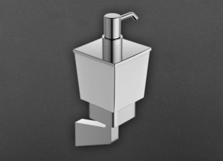 Techno AM-4199Z ХромАксессуары для ванной<br>Дозатор для жидкого мыла Art &amp; Max Techno AM-4199Z, ёмкость для мыла выполнена из стекла.<br>