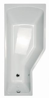 BeHappy 160 белая 160 LВанны<br>Акриловая асимметричная ванна Ravak BeHappy 160 L. Артикул C131000000. Рекомендуемые шторки VS3.  VS3 115 предназначена для ванны размером 160 см. Возможность комбинирования с передней панелью, сточным комплектом, умывальником BeHappy, подголовником BeHappy, мебелью, смесителем для ванны, термостатическим или смесителем скрытого монтажа и другими умывальниками. Для устранения монтажного зазора приобретайте декоративную планку и силиконовый герметик. Возможна покупка дополнительных аксессуаров RAVAK, Chrome. В стоимость входит только ванна, дополнительное оборудование приобретается отдельно.<br>