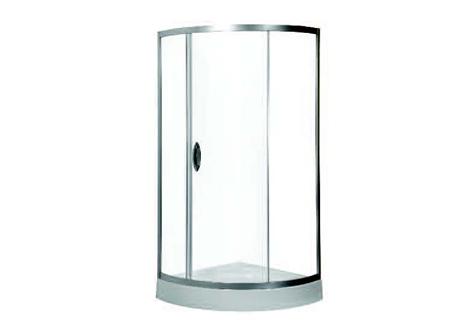 Bliss Slide ПрозрачнаяДушевые ограждения<br>Душевой уголок AM PM Bliss Slide 3/4 с раздвижной дверью. Цвет профиля хром матовый, стекло прозрачное, каленое, толщиной 6мм. Возможность регулировать профиль при неровных стенах.  Возможна как лево-, так и правосторонняя установка двери. Поддон и все дополнительные комплектующие приобретаются отдельно.<br>