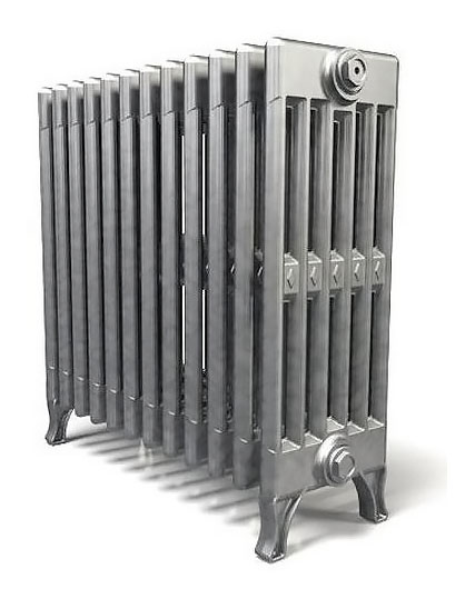 Verdun 470 x2Радиаторы отопления<br>Стоимость указана за 2 секции. Чугунный секционный радиатор RETROstyle Verdun 470 610x100x218 мм с боковым подключением. Межосевое расстояние - 470 мм. Радиаторы поставляются покрытые грунтовкой выбранного цвета. Дополнительно могут быть окрашены в один из цветов палитры RAL (глянец), NCS (матовый), комбинированный (основной цвет + акцент на узорах), покраска с патинацией (old gold; old silver, old cupper) и дизайнерское декорирование. Установочный комплект приобретается дополнительно.<br>