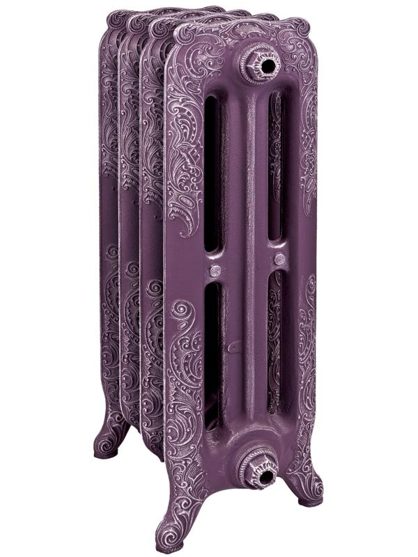 Bristol M 582 x12Радиаторы отопления<br>Стоимость указана за 12 секций. Чугунная секция RETROstyle Bristol M 582 750x80x250 мм с боковым подключением. Мощность 228 Вт. Масса - 13.1 кг. Емкость - 3 л. Рабочее давление 8 атм. Межосевое расстояние - 582 мм. Радиаторы поставляются покрытые грунтовкой выбранного цвета. Дополнительно могут быть окрашены в один из цветов палитры RAL (глянец), NCS (матовый), комбинированная (основной цвет + акцент на узорах), покраска с патинацией (old gold; old silver, old cupper) и дизайнерское декорирование. Установочный комплект приобретается дополнительно.<br>