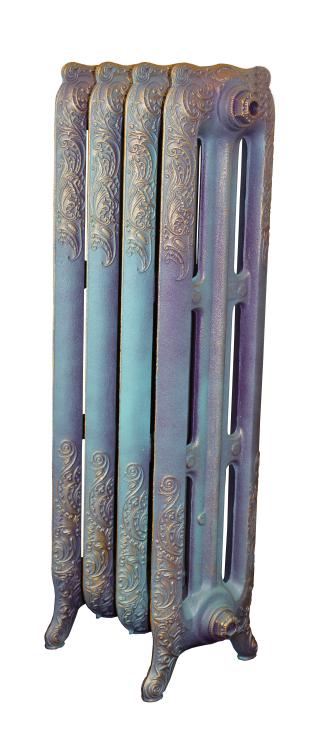 Bristol M 782 x5Радиаторы отопления<br>Стоимость указана за 5 секций. Чугунная секция RETROstyle Bristol M 782 950x80x250 мм с боковым подключением. Мощность 277 Вт. Масса - 15.9 кг. Емкость - 3.5 л. Рабочее давление 8 атм. Межосевое расстояние - 782 мм. Радиаторы поставляются покрытые грунтовкой выбранного цвета. Дополнительно могут быть окрашены в один из цветов палитры RAL (глянец), NCS (матовый), комбинированная (основной цвет + акцент на узорах), покраска с патинацией (old gold; old silver, old cupper) и дизайнерское декорирование. Установочный комплект приобретается дополнительно.<br>