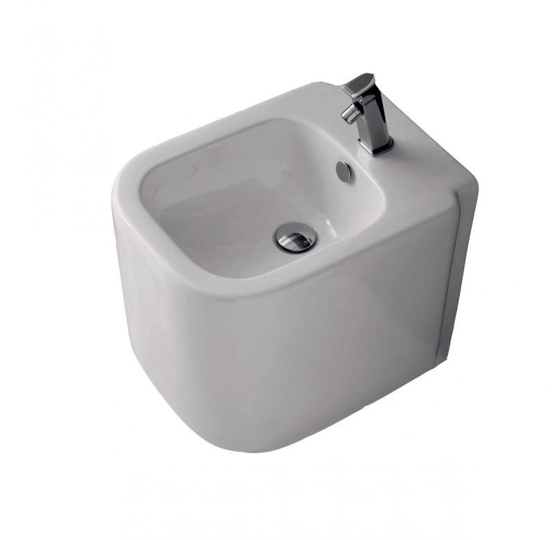 D-Style 40035 БелыйБиде<br>Биде напольное Althea Ceramica D-Style 40035. Модель в современном стиле, с прямоугольной формой чаши. Все дополнительные комплектующие приобретаются отдельно.<br>
