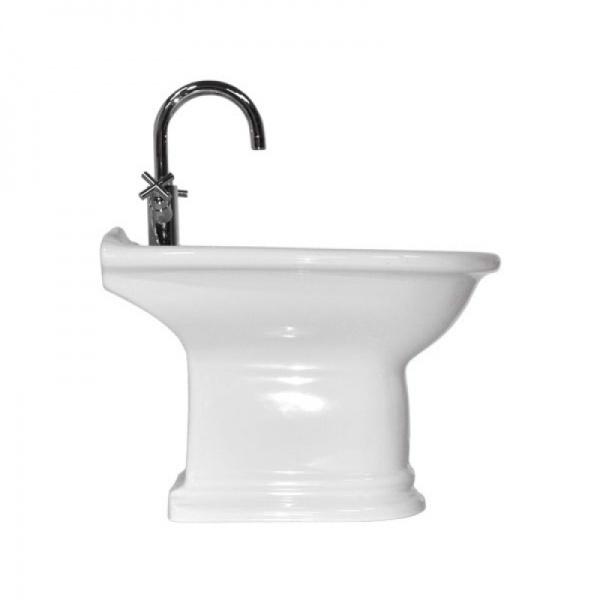 Rose 24040bi БелыйБиде<br>Биде Althea Ceramica Rose 24040bi в классическом стиле. Форма чаши - овальная, модель выполнена в белом цвете. Все дополнительные комплектующие приобретаются отдельно.<br>