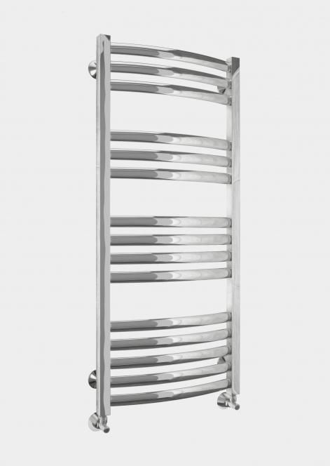 Палермо  535х940Полотенцесушители<br>Водяной полотенцесушитель Terminus Палермо 35х35/28  П12 5-4-3 изготовлен  из электросварной трубы высочайшего качества марки AISI 304. Количество перекладин: 12. Нижнее подключение.<br>