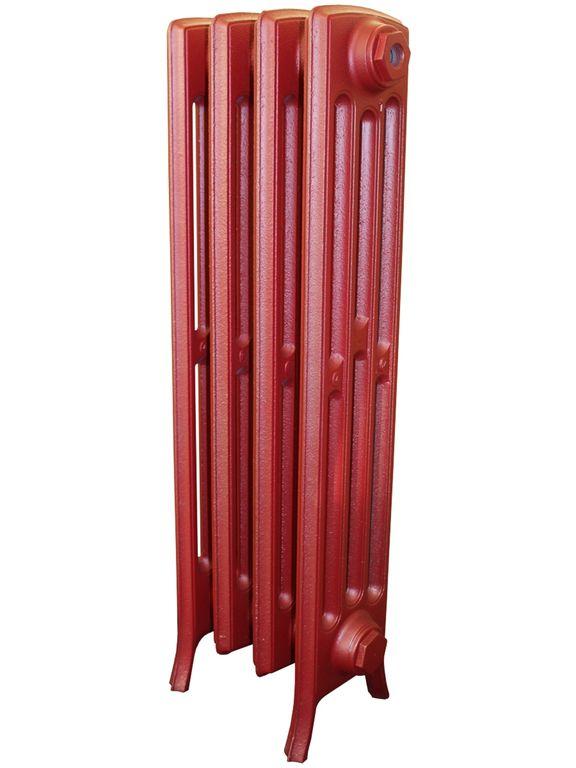 Derby М 4/600 x5Радиаторы отопления<br>Стоимость указана за 5 секций. Чугунный секционный радиатор RETROstyle Derby M 4/600 760x315x174 мм с боковым подключением. Межосевое расстояние - 600 мм. Радиаторы поставляются покрытые грунтовкой выбранного цвета. Дополнительно могут быть окрашены в один из цветов палитры RAL (глянец), NCS (матовый), комбинированный (основной цвет + акцент на узорах), покраска с патинацией (old gold; old silver, old cupper) и дизайнерское декорирование. Установочный комплект приобретается дополнительно.<br>