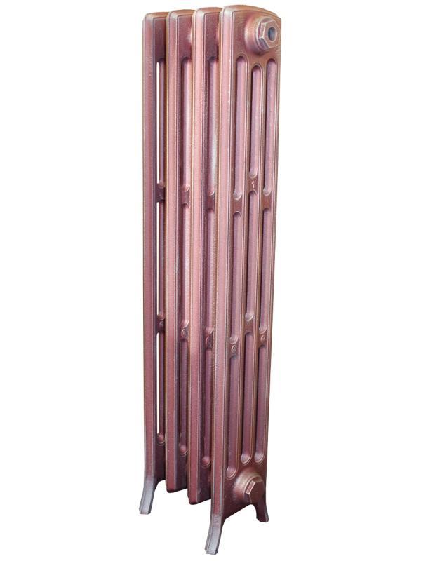 Derby М 4/800 x10Радиаторы отопления<br>Стоимость указана за 10 секций. Чугунный секционный радиатор RETROstyle Derby M 4/800 960x630x175 мм с боковым подключением. Межосевое расстояние - 800 мм. Радиаторы поставляются покрытые грунтовкой выбранного цвета. Дополнительно могут быть окрашены в один из цветов палитры RAL (глянец), NCS (матовый), комбинированный (основной цвет + акцент на узорах), покраска с патинацией (old gold; old silver, old cupper) и дизайнерское декорирование. Установочный комплект приобретается дополнительно.<br>