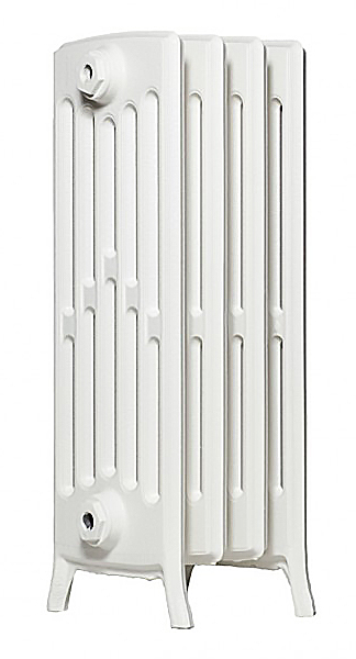Derby М 6/500 x3Радиаторы отопления<br>Стоимость указана за 3 секции. Чугунный секционный радиатор RETROstyle Derby M 6/500 660x189x250 мм с боковым подключением. Межосевое расстояние - 500 мм. Радиаторы поставляются покрытые грунтовкой выбранного цвета. Дополнительно могут быть окрашены в один из цветов палитры RAL (глянец), NCS (матовый), комбинированный (основной цвет + акцент на узорах), покраска с патинацией (old gold; old silver, old cupper) и дизайнерское декорирование. Установочный комплект приобретается дополнительно.<br>