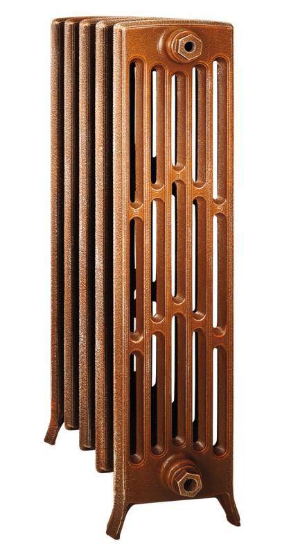 Derby М 6/800 x5Радиаторы отопления<br>Стоимость указана за 5 секций. Чугунный секционный радиатор RETROstyle Derby M 6/800 960x315x250 мм с боковым подключением. Межосевое расстояние - 800 мм. Радиаторы поставляются покрытые грунтовкой выбранного цвета. Дополнительно могут быть окрашены в один из цветов палитры RAL (глянец), NCS (матовый), комбинированный (основной цвет + акцент на узорах), покраска с патинацией (old gold; old silver, old cupper) и дизайнерское декорирование. Установочный комплект приобретается дополнительно.<br>