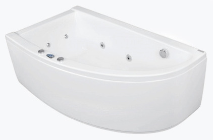 Laura 140 x 80 L Economy 1Ванны<br>Ванна Pool Spa серия Laura, в комплект входит: ванна и рама.<br>Пневматическое управление. Водный массаж:<br>&amp;#8722; ротационные форсунки для спины.<br>&amp;#8722; ротационные форсунки для стоп.<br>&amp;#8722; боковые форсунки с возможностью регулировки направления водной струи.<br>&amp;#8722; независимая регулировка интенсивности массажа спины, боков и стоп аэрацией.<br>&amp;#8722; защита от сухого запуска насоса.<br>&amp;#8722; отвод воды после купания из системы водного массажа.<br>