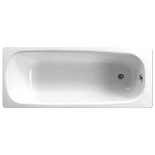 Roca Continental 150 BasicВанны<br>Чугунная ванна с гидромассажем Roca Continental 150 с ножками, без слива перелива. <br>Комплектация Basic: гидромассаж 6 форсунок, пневматическое управление, механический регулятор мощности гидромассажа.<br>