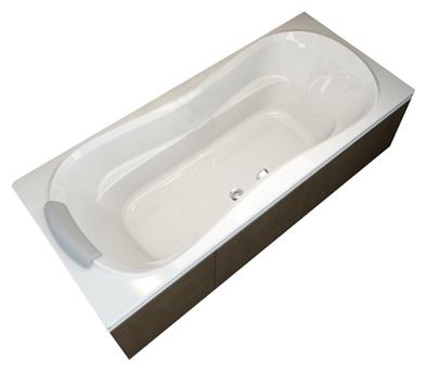 Фото - Акриловая ванна Ravak Campanula II 180 белая 180 акриловая ванна ravak vanda ii 160x70 белый